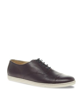 Image 1 of Fred Perry Laurel Wreath Dawson Leather Shoes
