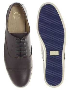 Image 3 of Fred Perry Laurel Wreath Dawson Leather Shoes