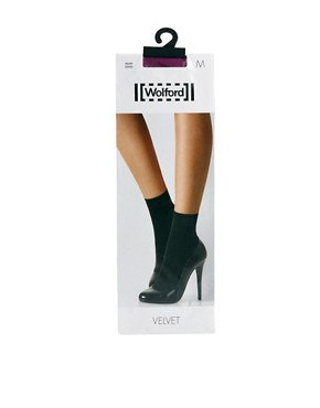 Image 4 ofWolford Velvet 66 Socks