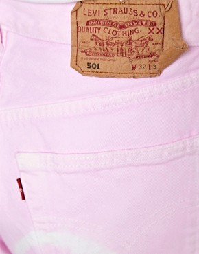 Image 3 ofReclaimed Levi&#39;s Vintage Boyfriend Jean In Soft Pink Tie Dye