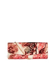 Ted Baker &ndash; Maarsha &ndash; Clutch mit Blumendruck
