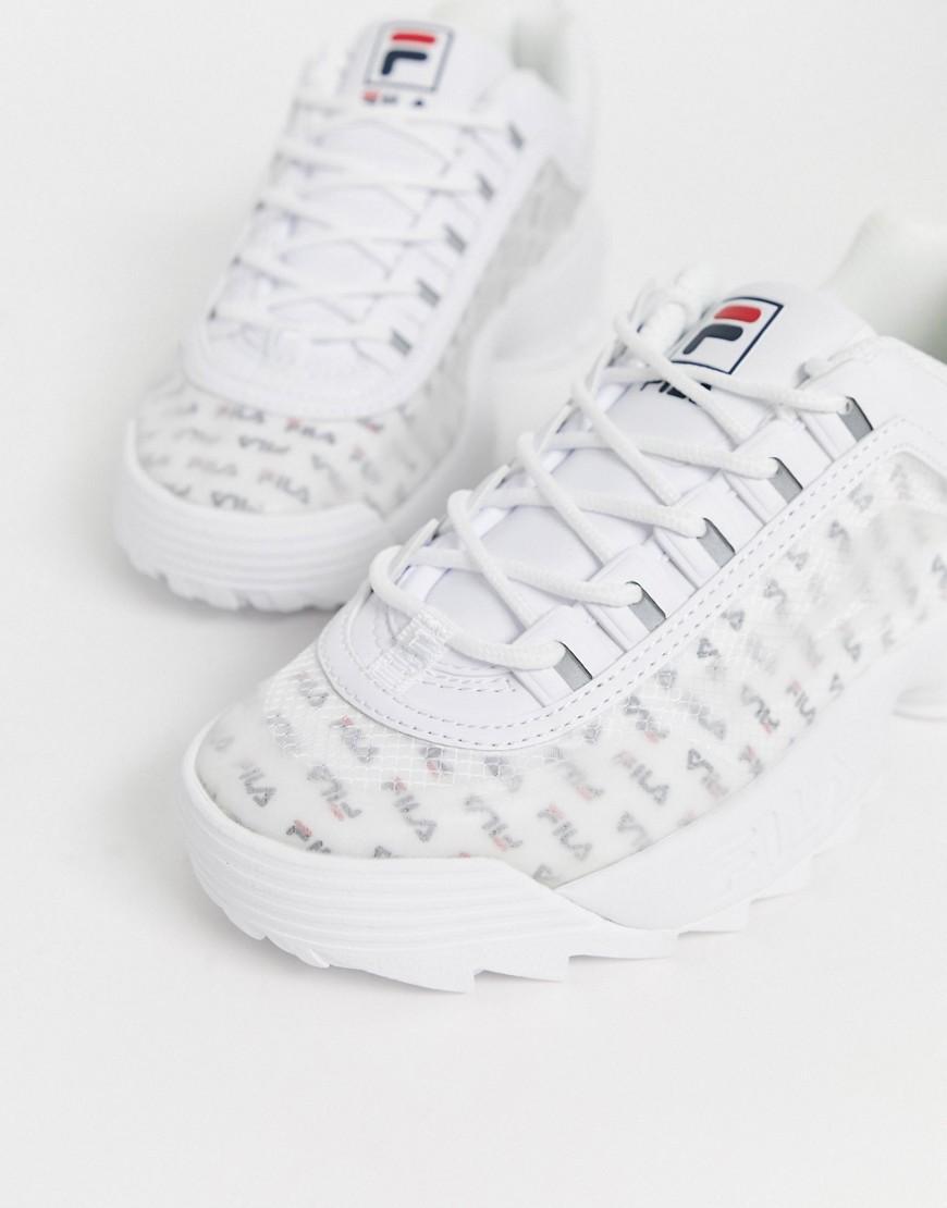 Sneaker Fila Zapatillas con panel con logo transparente Disruptor II de Fila