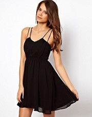 ASOS Skater Dress With Cami Straps