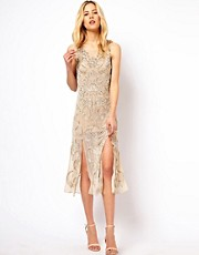 Needle &amp; Thread Lunar Midi Dress