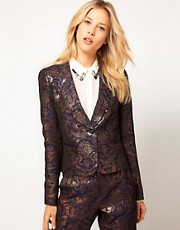 ASOS Premium Baroque Blazer