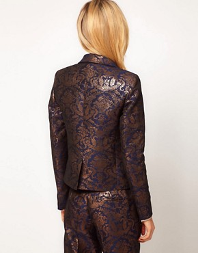 Image 2 ofASOS Premium Baroque Blazer
