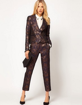 Image 4 ofASOS Premium Baroque Blazer