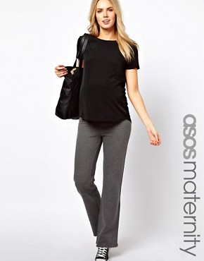 Image 1 ofASOS Maternity Exclusive Jogger