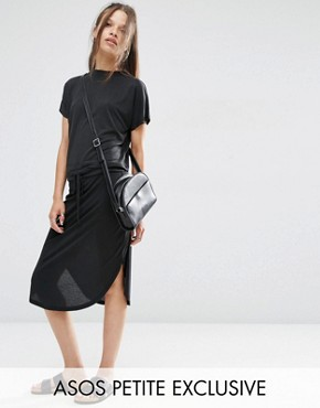 ASOS PETITE Casual Cupro Skirt Co-ord