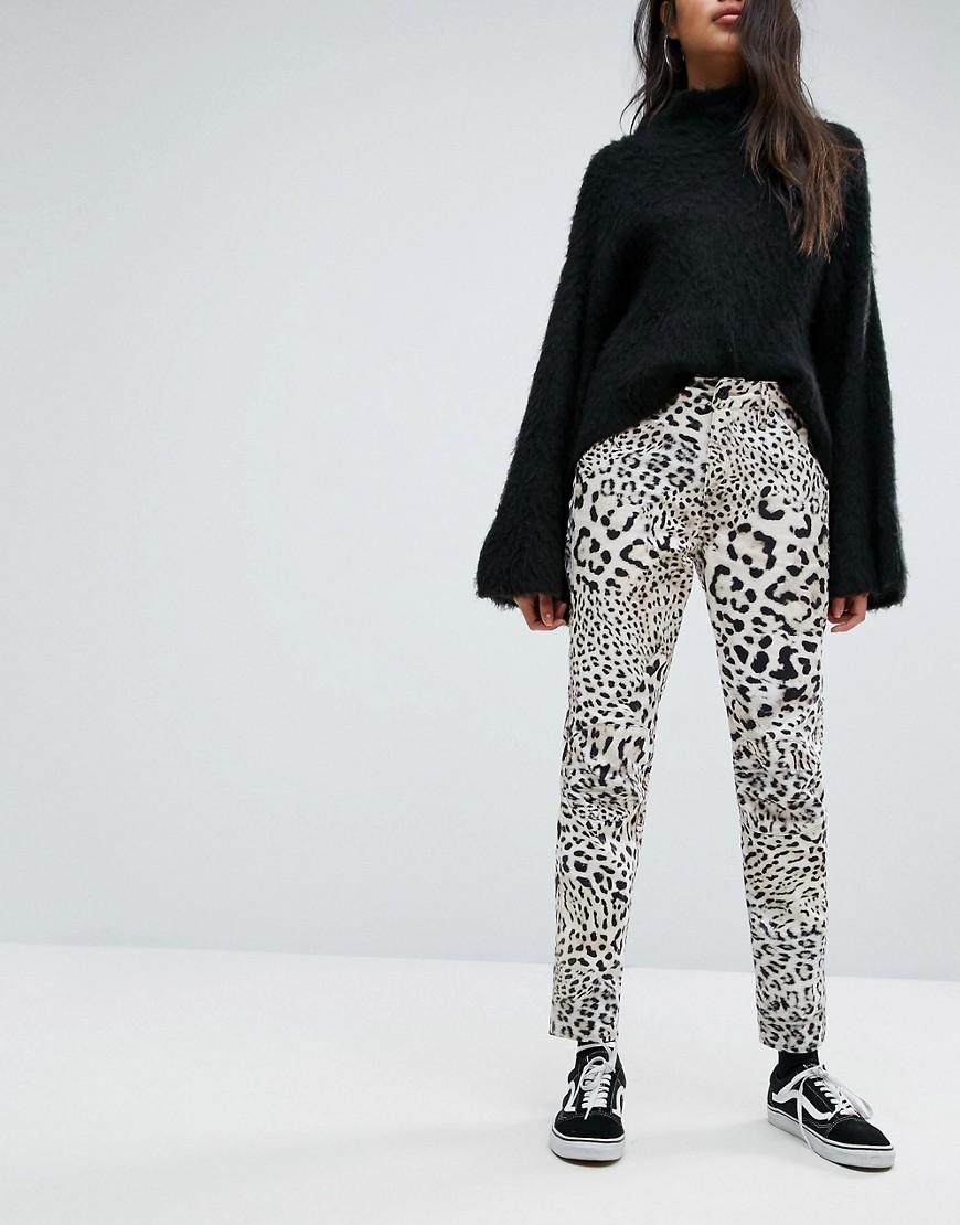 G-Star 5622 Elwood X 25 Pharrell Jeans met panterprint Leopard