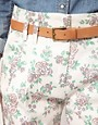 Image 3 ofJohann Earl Floral Print Denim Trousers