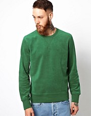 YMC Towelling Sweatshirt