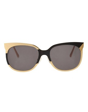 Image 2 ofDanielle Scutt Two Tone Oval Sunglasses