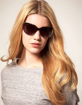 Image 3 ofDanielle Scutt Two Tone Oval Sunglasses