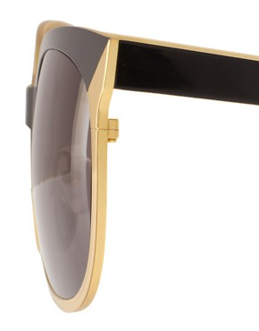 Image 4 ofDanielle Scutt Two Tone Oval Sunglasses