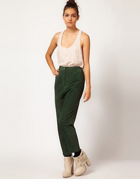 Image 1 of Ganni Suede Pants