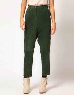 Image 4 of Ganni Suede Pants