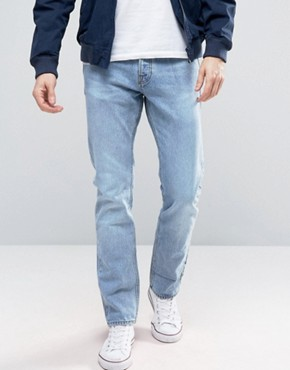 New Look Slim Jeans In Light Wash