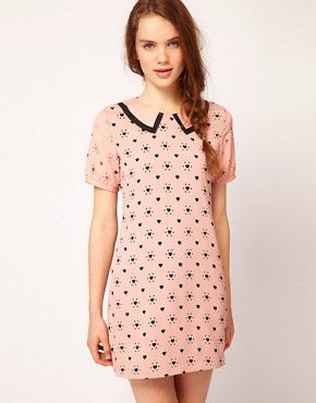 Image 1 ofDahlia Heart Cutwork Shift Dress
