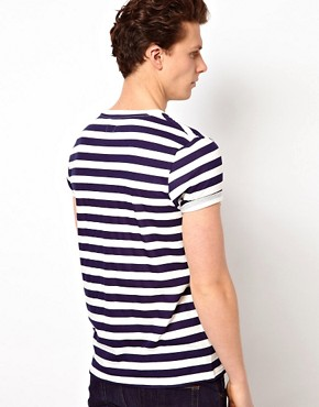 Image 2 of ASOS Stripe T-Shirt With Crew Neck