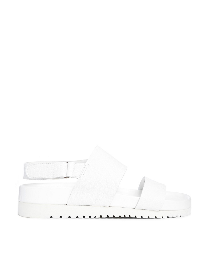 Image 1 of Senso Iggy White Footbed Flat Sandals