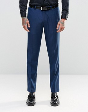 ASOS Slim Suit Trouser In Navy