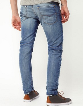 Image 2 ofDiesel Jeans Rombee XT Regular Tapered Fit 0807K Light Wash