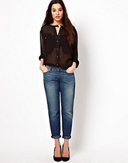 7 For All Mankind – Boyfriend-Jeans