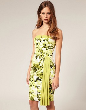 Image 1 ofASOS SALON Floral Cocktail Dress