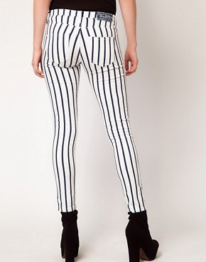 Image 2 ofMango Skinny Jean In Stripe
