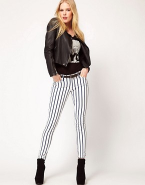 Image 4 ofMango Skinny Jean In Stripe