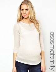 ASOS Maternity Exclusive Jumper In Neppi