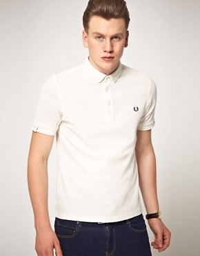Image 1 ofFred Perry Penny Collar Polo Shirt