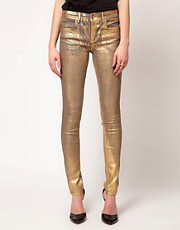 Oasis Metallic Skinny Jean