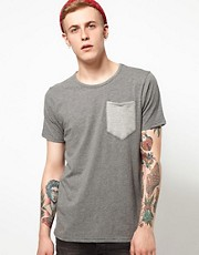 Supremebeing T-Shirt Signature Pocket Slub