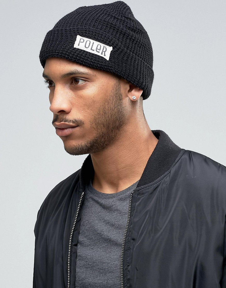 poler-beanie-workerman-black