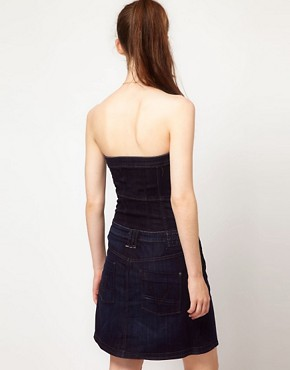 Image 2 ofG-Star Button Down Denim Dress