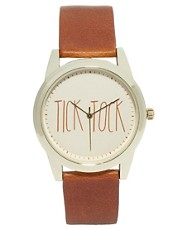 River Island &ndash; Tick Tock &ndash; Armbanduhr
