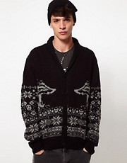 Peoples Market Cardigan With Shawl Collar