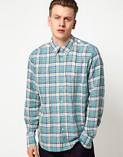 J Lindeberg - Camicia a quadri in tessuto madras