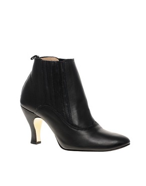 Image 1 ofRepetto Oye Elastic Side Mid Heel Boots