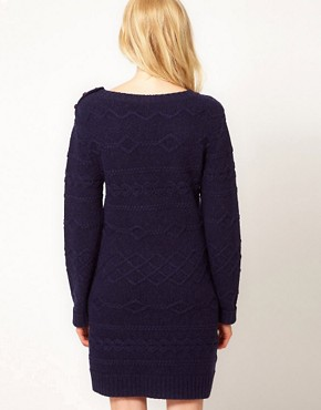 Image 2 ofBoutique by Jaeger Knitted Cable Dress