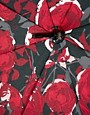 Image 2 ofLulu Guinness Rose Print Eliza-2 Umbrella