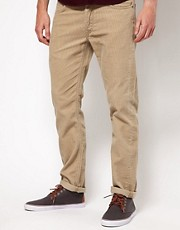 Lee Cord Trousers Slim Fit