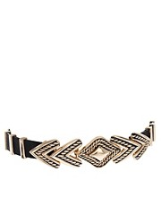 ASOS Engraved Arrow Waist Belt