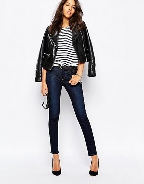 A-Gold-E Sophie High Waist Ankle Grazer Skinny Jeans
