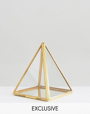 By Savvy Triangle Terrarium