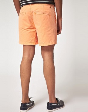 Image 2 ofASOS Washed Out Chino Shorts