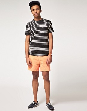 Image 4 ofASOS Washed Out Chino Shorts