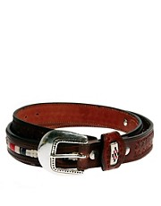 ASOS Leather Western Detail Belt